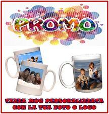 TAZZA MUG PERSONALIZZATA CON AL TUA FOTO - Immagine - Frase - Clip Art - Logo