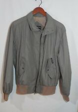 Vintage Member's Only Tan Windbreaker Jacket Size 40 Great Condition Rare Find
