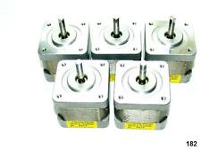 5 Nema 17 Japan Servo Stepper Motors 51.2oz/in Mill Robot RepRap Makerbot Prusa