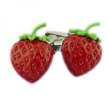 Strawberry Cufflinks Red Fruit Seller Picker Cafe Cruise Party Present Gift Box
