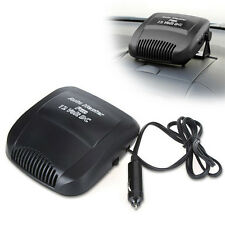 DC 12-Volt Car Vehicle Auto Portable Ceramic Space Heater Fan Defroster Demister