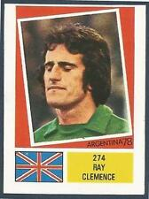FKS 1978-ARGENTINA 78 -#274-ENGLAND & LIVERPOOL-RAY CLEMENCE