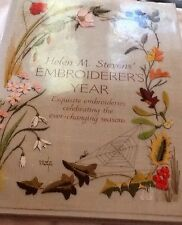 Helen M Steven's Embroiderer's Seasons of the year months Embroidery patterns