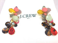 J Crew mixed charm earrings NWT new Authentic.Beautiful wedding bride bridesmaid