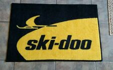 Ski-Doo Snowmobile 4x6' Vintage Retro logo door mat TNT blizzard RV elan