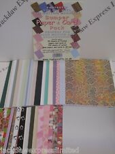 A5 Bumper Printed Paper & Card Pack for Cardmaking Scrapbooking Arts Crafts AM80