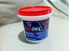 3 x New Dap 12328 Drydex Spackling Compound With Dry-time Indicator - White 8-oz