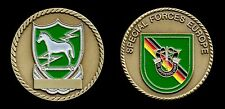 Challenge Coin - U.S. Army Special Forces Europe - 10th SFG