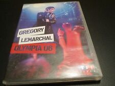 "DVD ""GREGORY LEMARCHAL - OLYMPIA 06 (2006)"" concert"