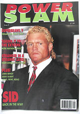 POWER SLAM MAGAZINE ISSUE 9 / APRIL 1995 / SID  / L2