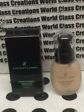 VINCENT LONGO LIQUID CANVAS HEALTHY FLUID FOUNDATION SPF6-GOLDEN PROCELAIN -1 OZ