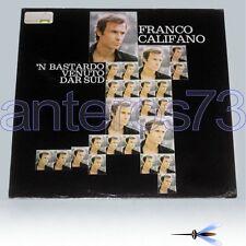 """FRANCO CALIFANO """"'N BASTARDO VENUTO DAR SUR"""" RARO LP CGD musicA - SIGILLATO"""