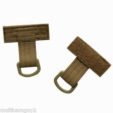 OPS Set of 2 T-bone MOLLE adapter in COYOTE BROWN