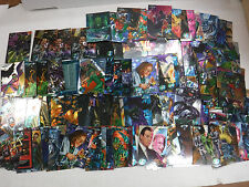 1995 Batman Forever Metal Trading Cards Lot Of 100+ w/Some Dupes jh31