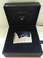 MONTBLANC  Compact Photo Chrome Case With Box & Papers Please See Pictures!