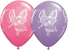 "FAIRY BALLOONS 10 x 11"" QUALATEX ROSE & SPRING LILAC LATEX BALLOONS"