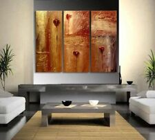 CHOP66 large 3pcs modern abstract 100% hand-painted oil painting art canvas