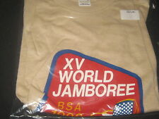 1983 World Jamboree US Contingent T-shirt  Boys size 18 xl         j21