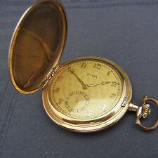 alte Sprungdeckel Taschenuhr Doublé CYMA um 1910