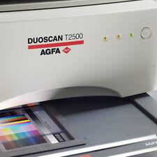 AGFA t2500 Hires-négatif -/diascanner moyens format panorama etc. glaslos numérisation
