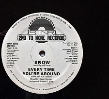 "SNOW 12"" DC boogie synth ""Every Time You're Around"" wlp PROMO '83 orig ~ NICE!"