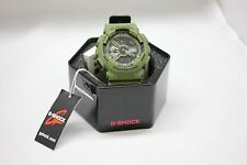 BRAND NEW CASIO G-SHOCK Mens ANI-DIGI Watch | GA110LP-3A | ARMY GREEN / BLACK