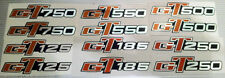 SUZUKI GT125 GT185 GT250 GT380 GT500 GT550 GT750 GT SIDE PANEL DECALS X 2