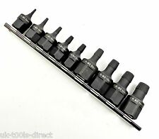 "9pc Multi-Spline Extractor Set Stud Srew Extractor Tool Set 1/2"" 3/8"" 2 - 14mm"