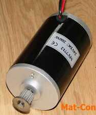 Electric dc motor e-motor unite my7712n 200w 24v, 0,55nm, Shaft 8mm, Belt pulley