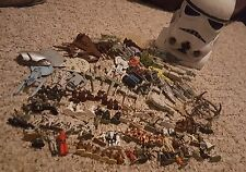 STAR WARS Micro Machines Galoob 85 Figures & 38 Ships + Trash Compacter Playset!