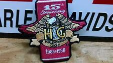 vintage nos Harley H.O.G. hog 15th anniversary 1983 1998 eagle patch obsolete FL