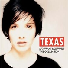 TEXAS - SAY WHAT YOU WANT-THE COLLECTION  CD++++++++19 TRACKS  NEU