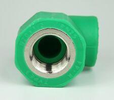 Aqua Plus PPR Winkel IG 20mm x 1/2 Zoll Wasserleitung Heizungsleitung 90° Winkel