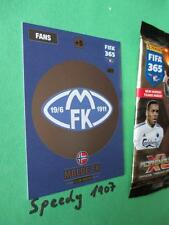 Panini Adrenalyn FIFA 365 NORDIC Edition Wappen Logo Club Badge Molde 221