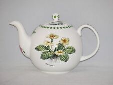 Kirsty Jane Fine English Bone China 6 Cup Teapot Tea Pot BOTANICAL