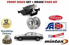 FOR TOYOTA CELICA 2.0 GTI ST202 1994-  FRONT BRAKE DISCS SET + DISC PADS KIT