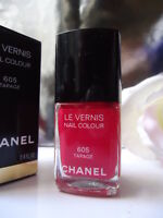 605 TAPAGE CHANEL LE VERNIS NAIL COLOUR VARNISH NEW MINT GIFT CONDITION BOX