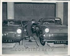 1960 Car Moving Platform Parking Garage Carpark London Press Photo
