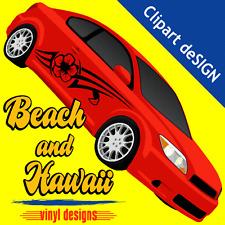 HAWAII CLIPART-VINYL CUTTER PLOTTER IMAGES-EPS VECTOR CLIP ART CD