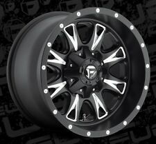 Fuel Throttle D513 18x10 6x135/6x5.5 ET-24 Black Wheels Rims (Set of 4)