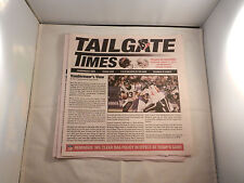 "2013 HOUSTON TEXAN TAILGATE TIMES ""NEW"" FOR MOST HOME GAMES (9)"