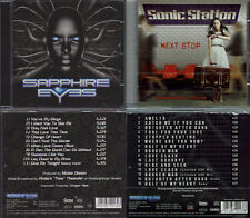 2 CDs, Sapphire Eyes - ST(+1) + Sonic Station - Next Stop (+4) AOR, Work Of Art