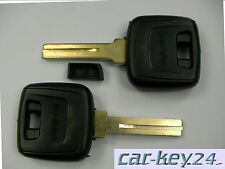 Volvo C70 S70 V70 V90 S90 V40 S40 Schlüssel Rohling Car Key NE mit Transponderf.