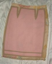 MOSCHINO COUTURE pink skirt, size 6