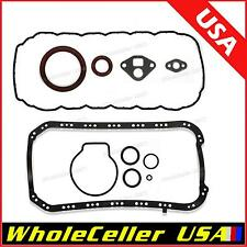 Lower Gasket oil pan Set For 96-00 Honda 1.6L SOHC D16Y8 D16Y7 D16Y5