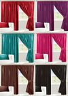 Fully Lined Curtains All Sizes Pencil Pleat 46 66 90 x 54 72 90 Inch Drop