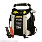 Stanley 1000 Amp Jump Starter W/ Air Compressor And Work Light Auto Car Battery