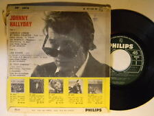 Johnny Hallyday import  ep 45 w/ps Uptight-Respect +2 (in French) ~ VG