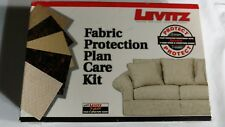Levitz Fabric Protection Plan Care Kit 7 years stain & structure guard box   new