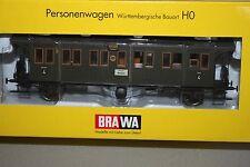 Brawa 2151 2-Achser Personenwagen 4.Klasse Di DRG Spur H0 OVP
